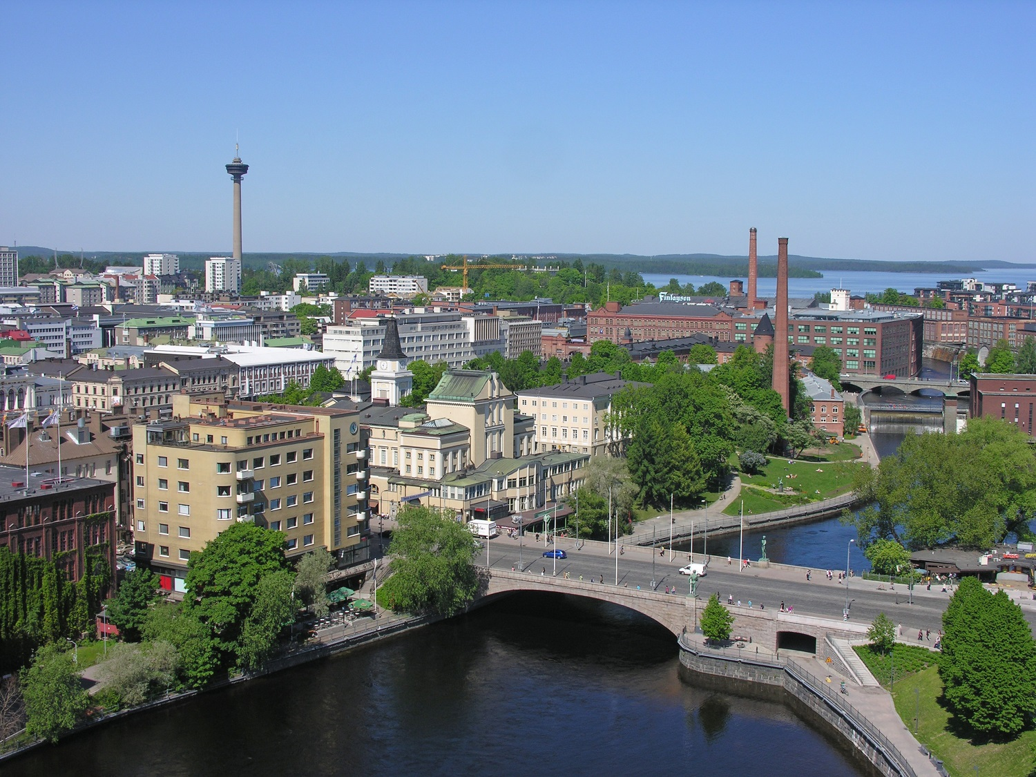 Tampere aerial